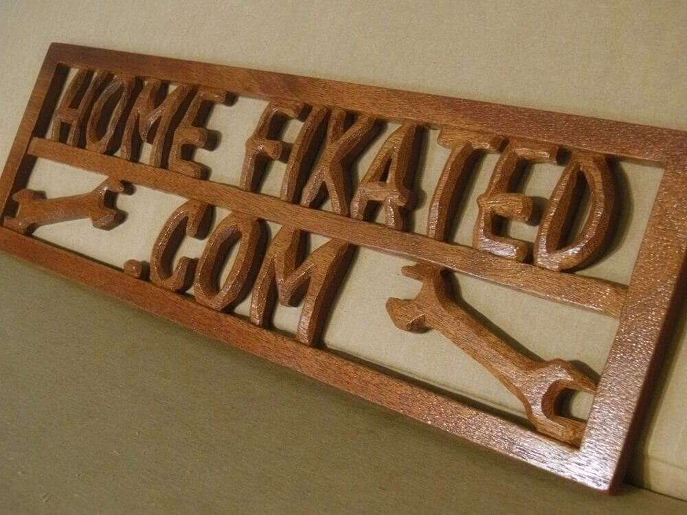 3d Wooden Sign Woodworking Project
