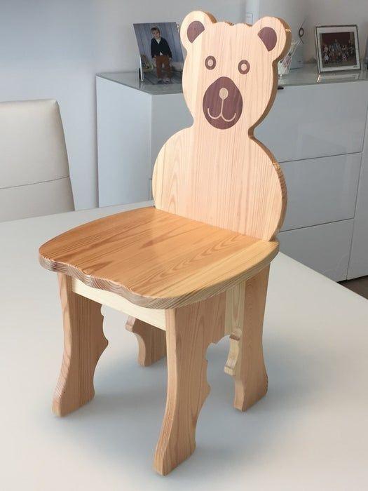 Bear – Wooden Kids Chair