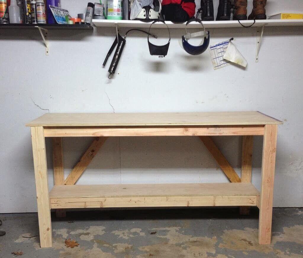 Comfortable & Cheap Workbench