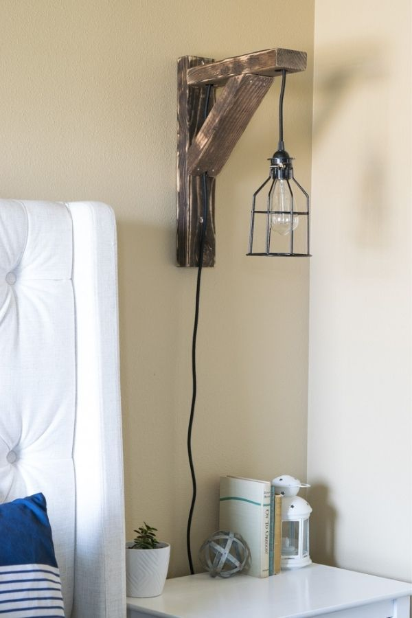 Corbel Sconce Lights For Bedroom