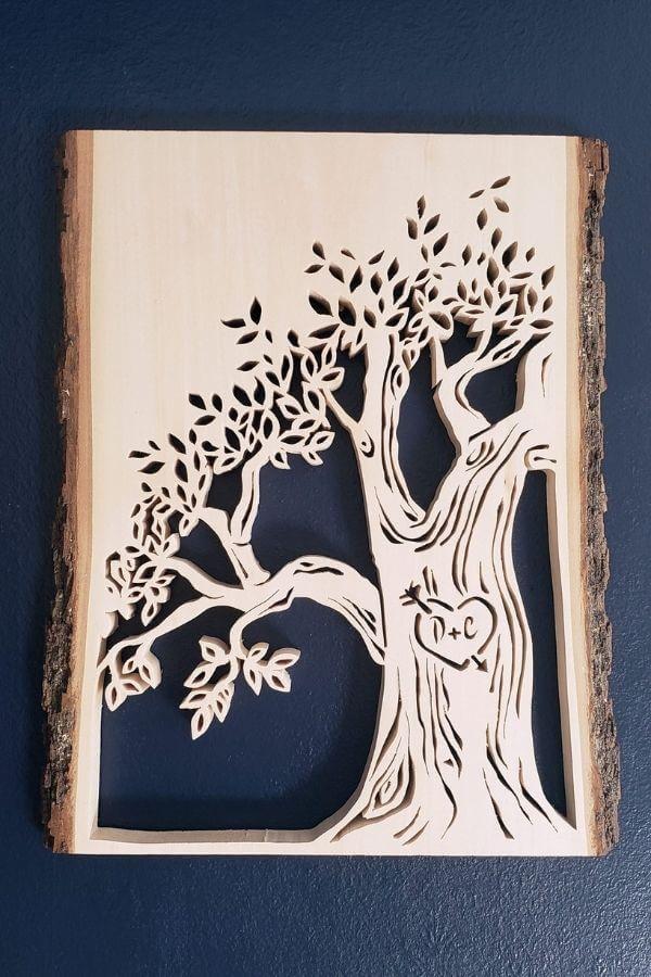 Creative Funks And A Scroll Saw Tree