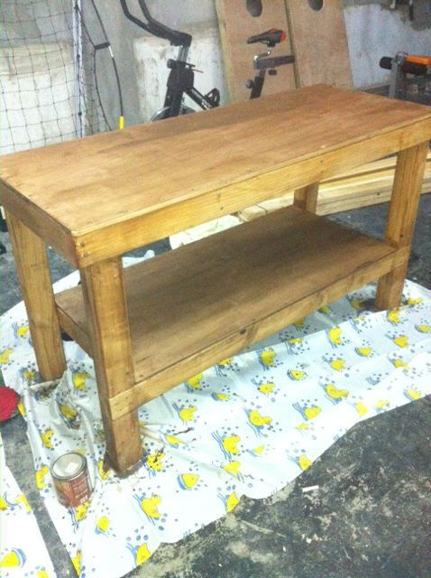 DIY 2x5 Workbench