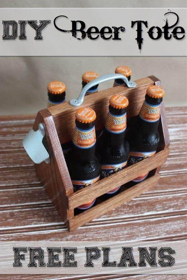 DIY Beer Tote
