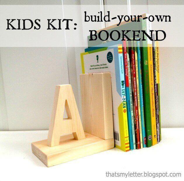 DIY Bookend