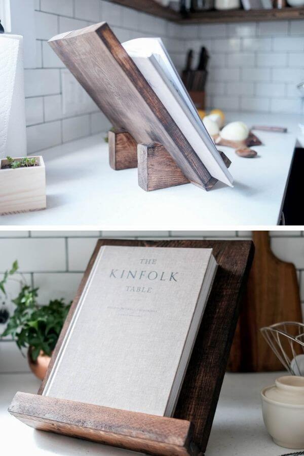 DIY Cookbook Stand