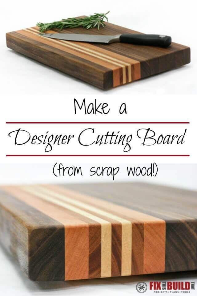 DIY Cutting Board From Scrap Wood