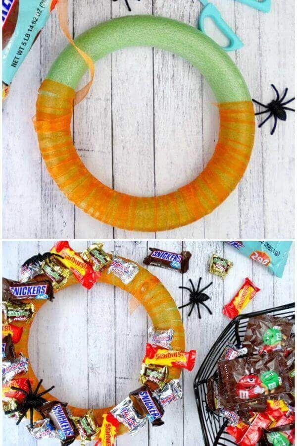 Candy Wreath