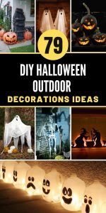 DIY Halloween Outdoor Decorations Ideas