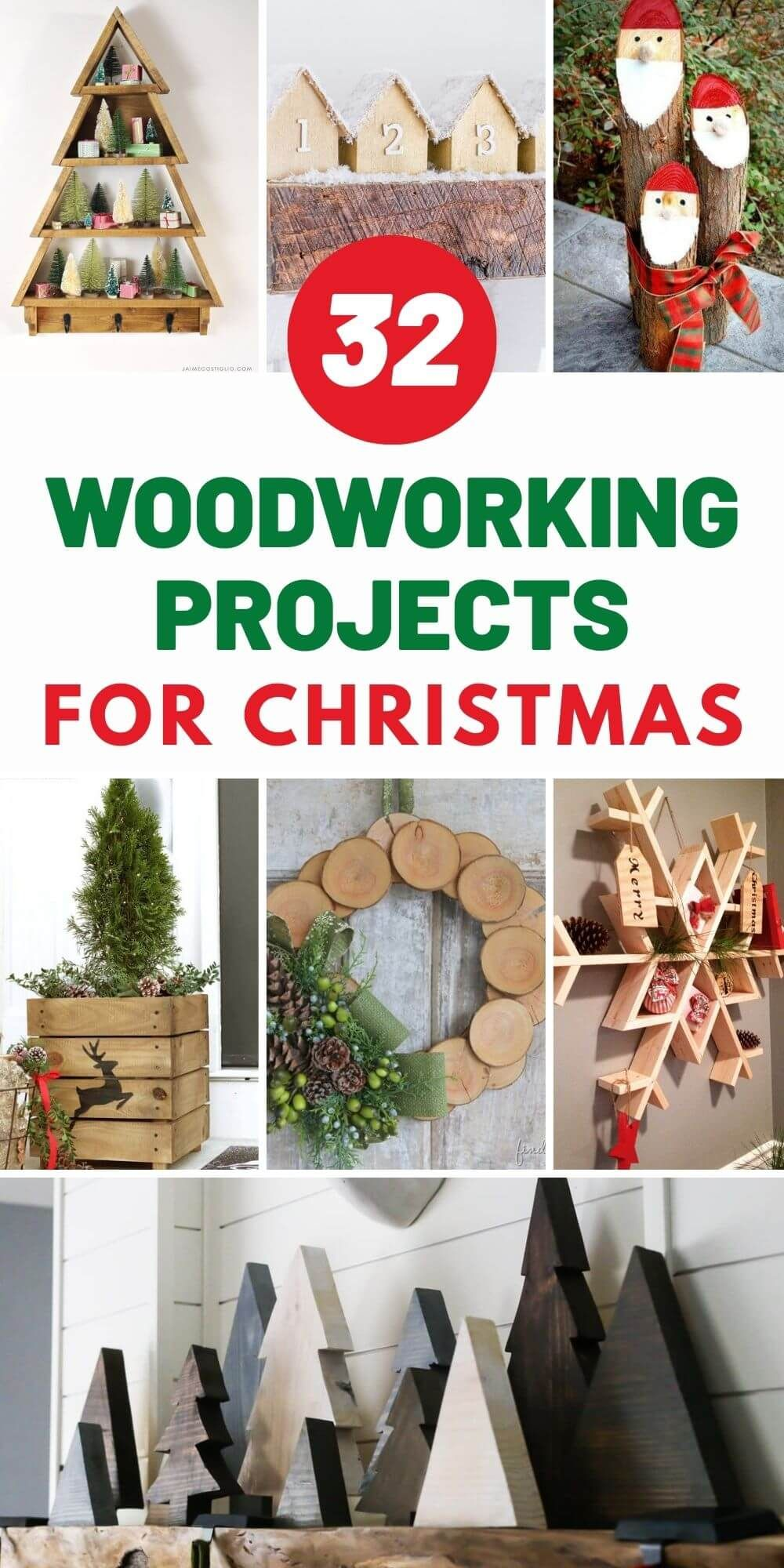 32 DIY Woodworking Projects For Christmas