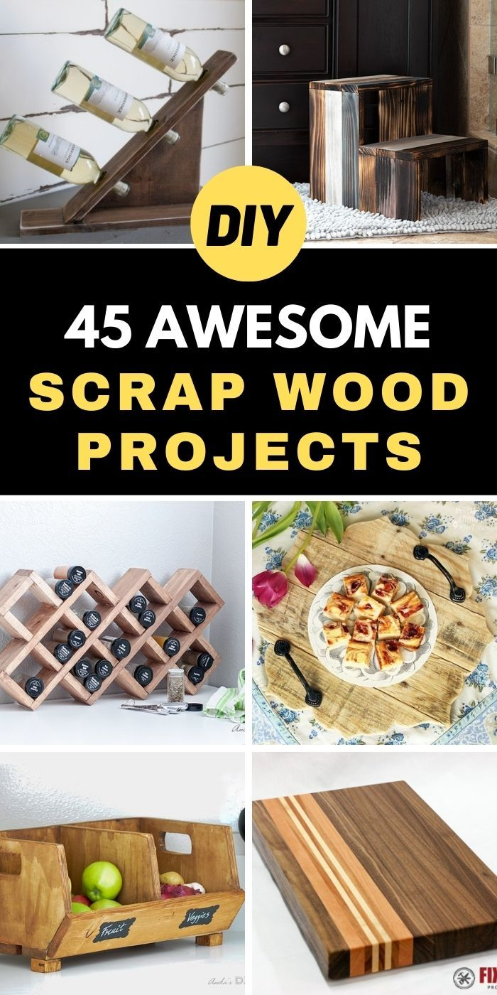 45 Awesome DIY Scrap Wood Projects