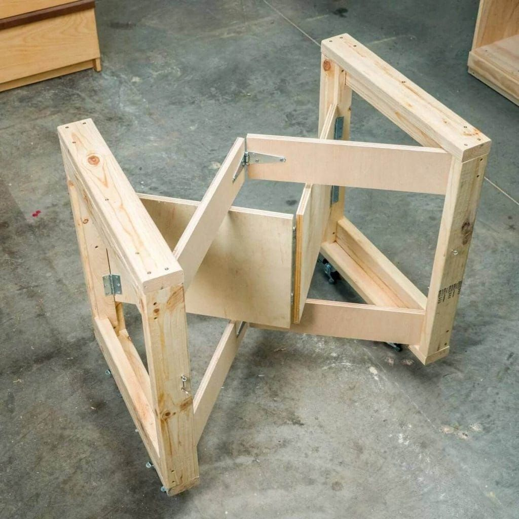 Folding Portable Workbench