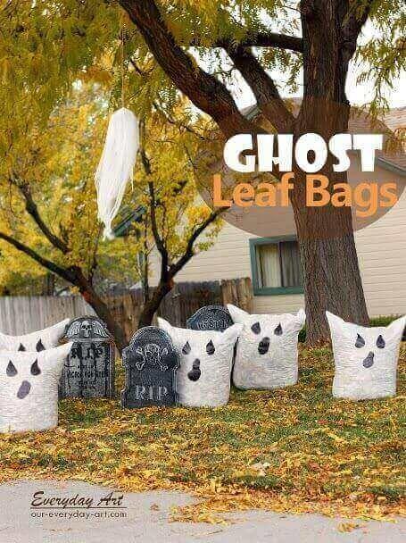 Ghost Leaf Bags