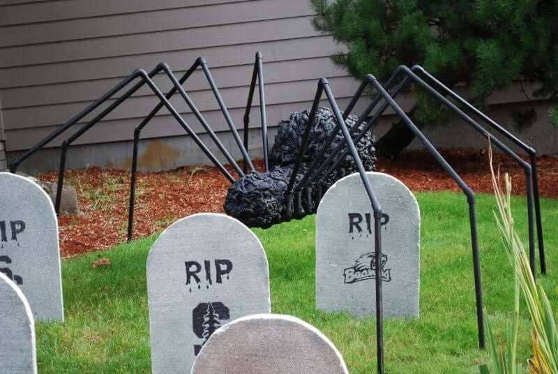 Giant PVC Spider