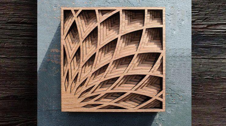Layered Box With Art Deco Design