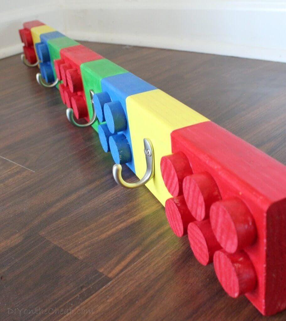 Coat Rack From Legos