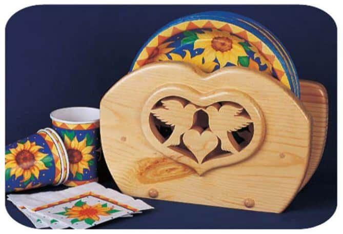 Lovebird Plate Holder
