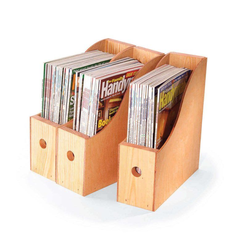 Magazine Storage Containers