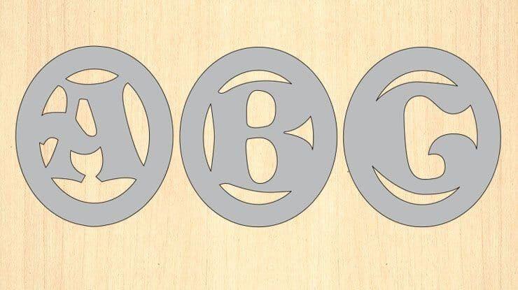 Monogram Circular Patterns