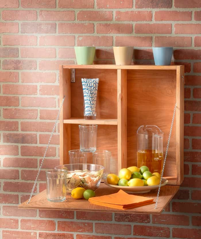 Outdoor Serving Station For Summer Soirees