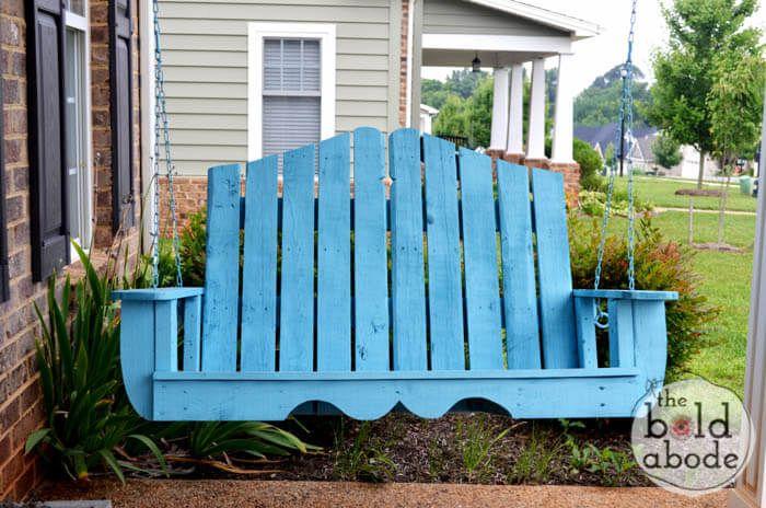 Pallet Porch Swing