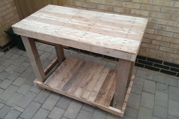Pallet Workbench