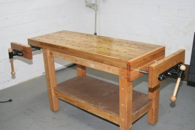 Real Woodworker's Workbench