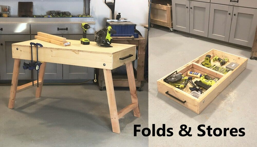 Removable Top Workbench