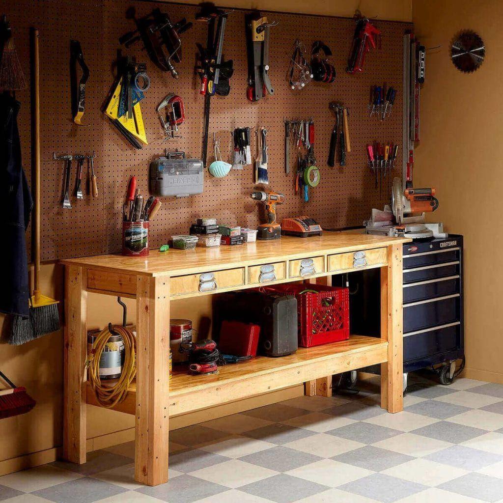 Rigid & Long-Lasting Workbench