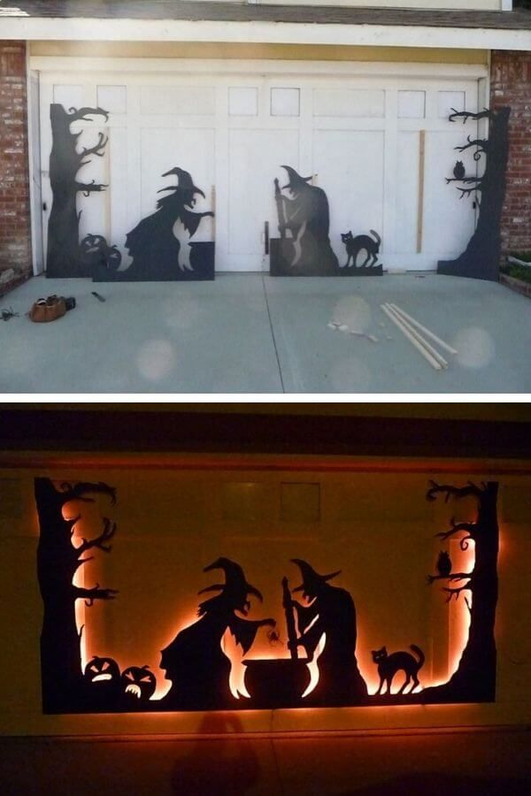 Scary Garage Door