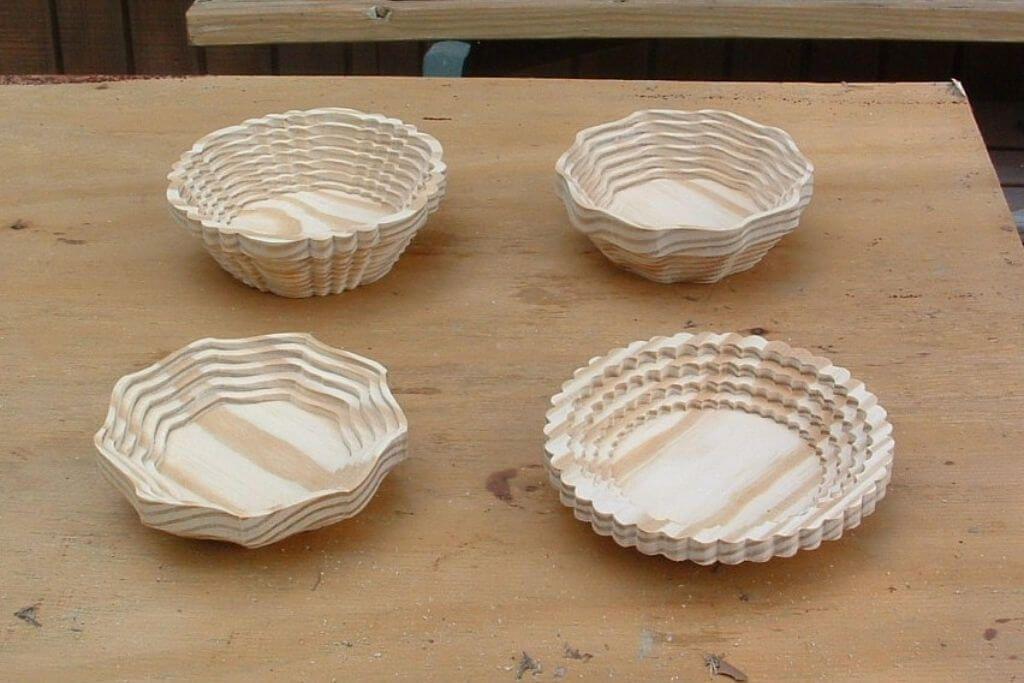 Scroll Saw Baskets Group