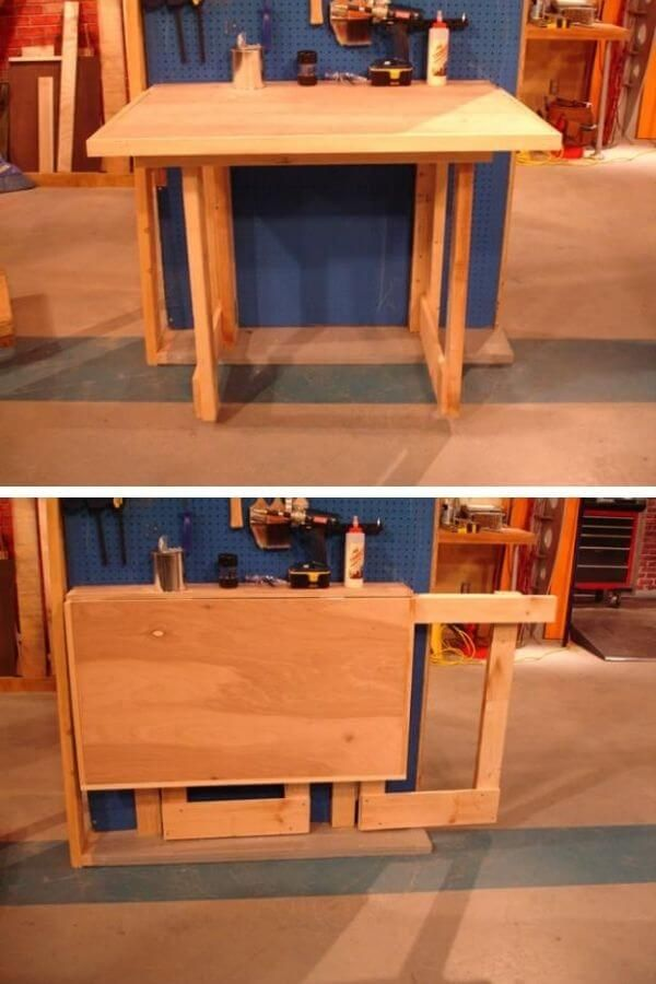 Simple Foldable Workbench