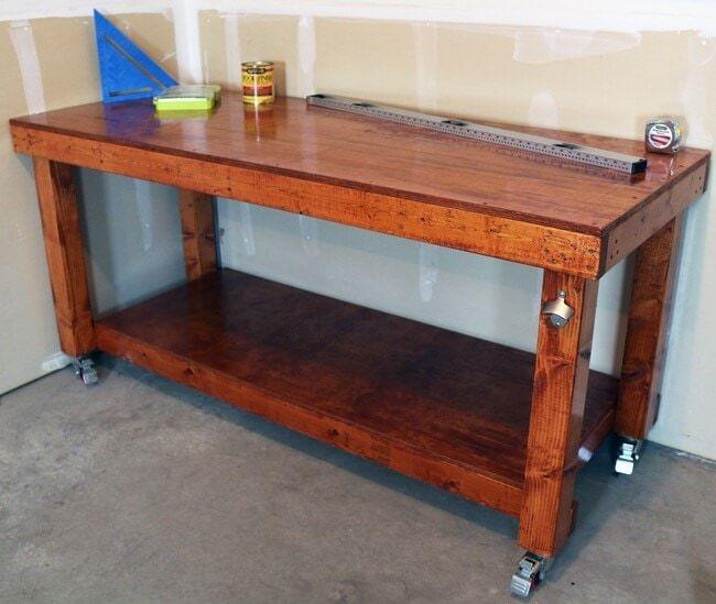 Simple Sturdy Workbench