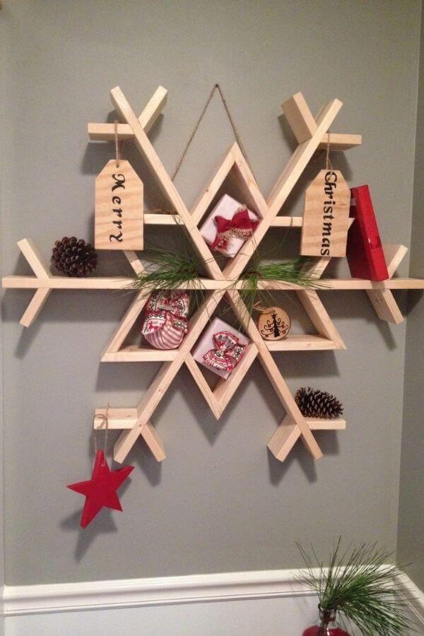 Snowflake Wall Shelf