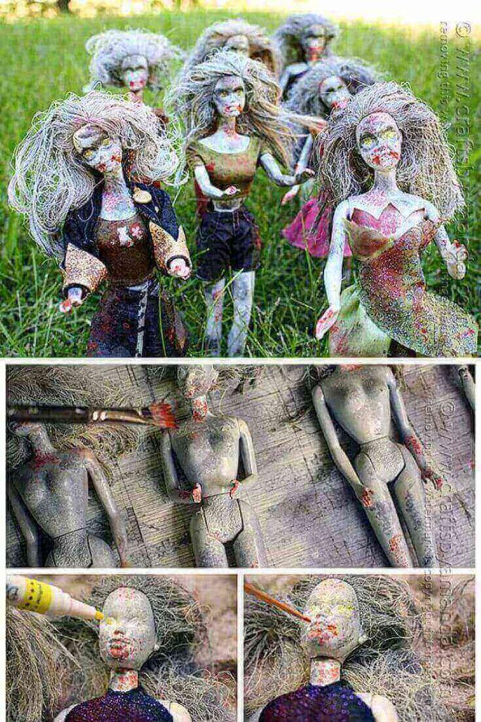 Zombie Barbie Dolls