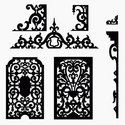 Cabinet Fretwork Panels