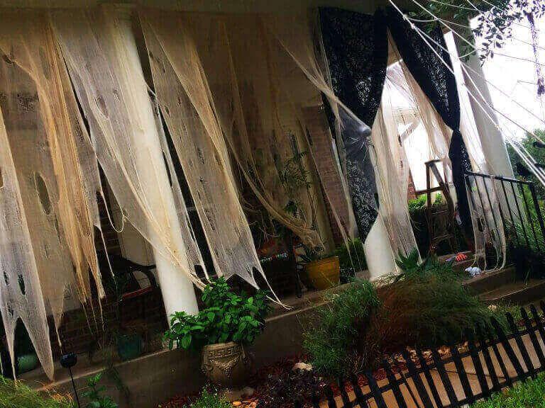 Creepy Halloween Curtains