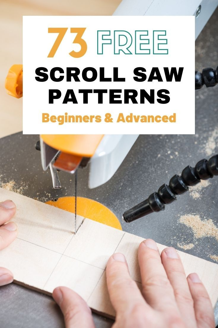 73 Free Scroll Saw Patterns For Beginners and Advanced