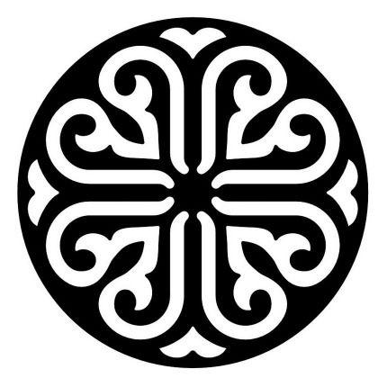 Round Scroll Saw Ornament