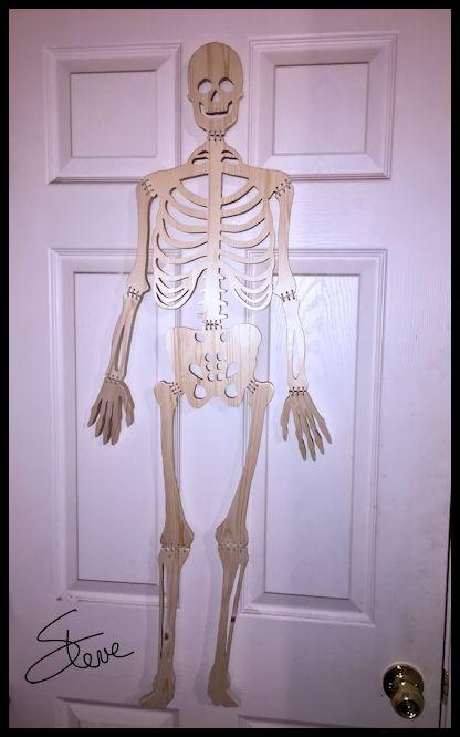 Wooden Human Skeleton