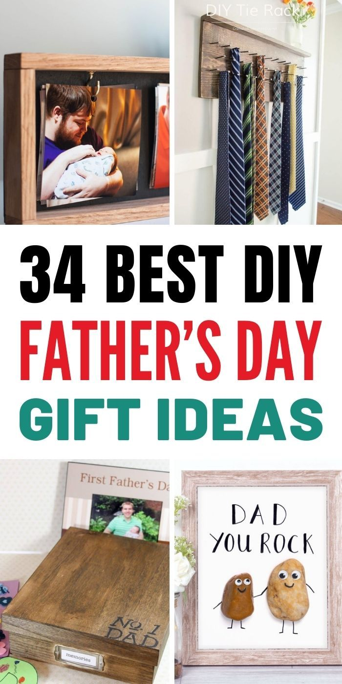 34 Best DIY Father's Day Gift Ideas