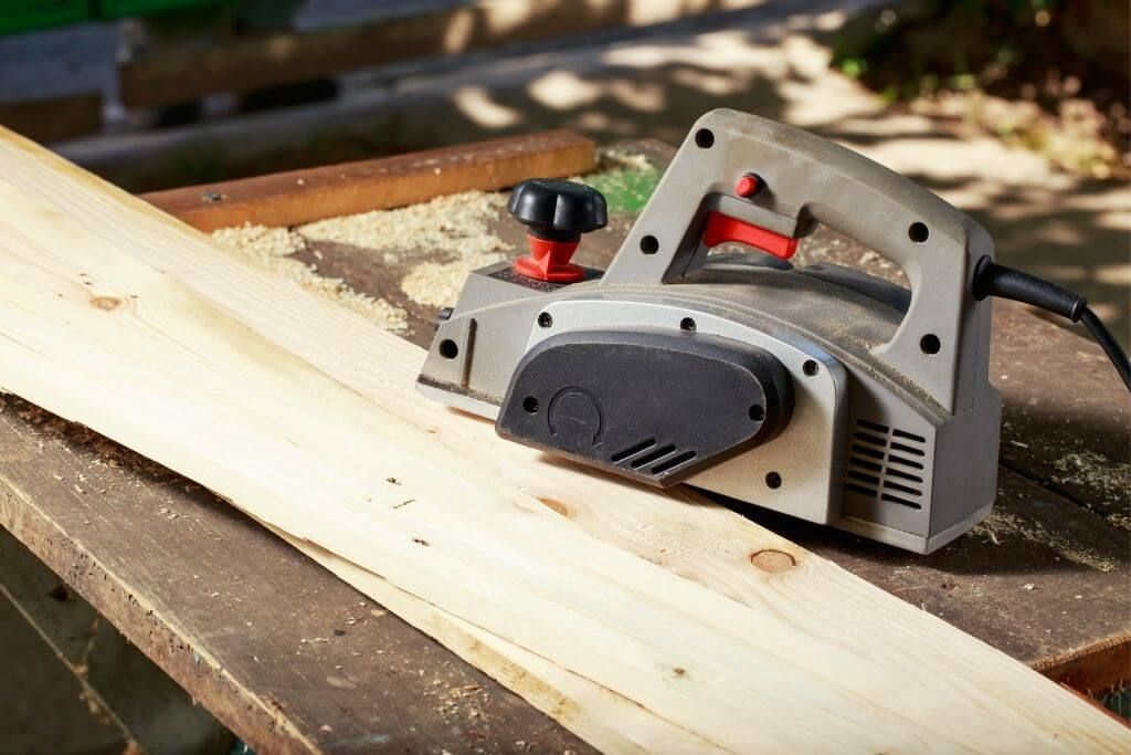 electric hand wood planer