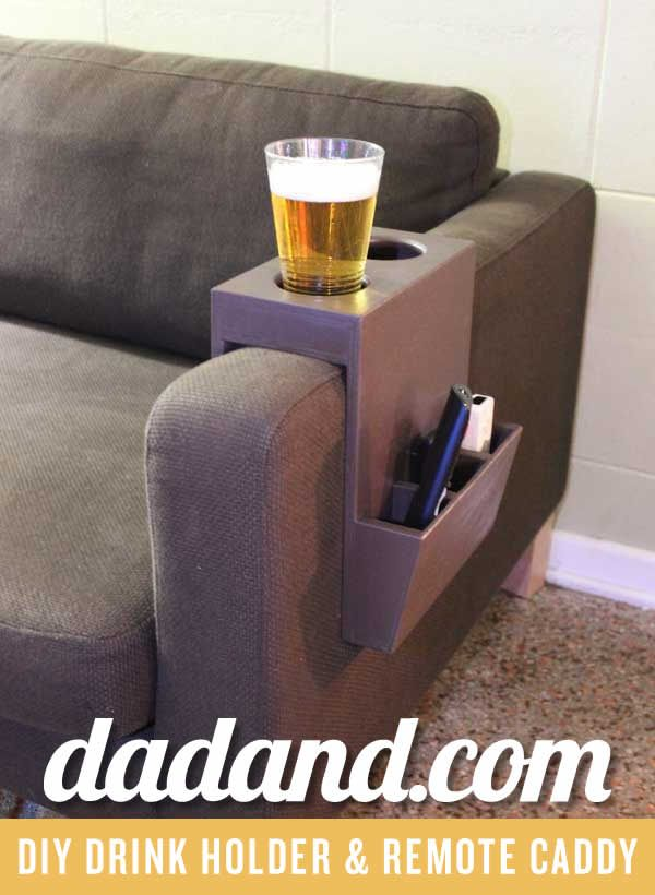 DIY Couch Cup Holder