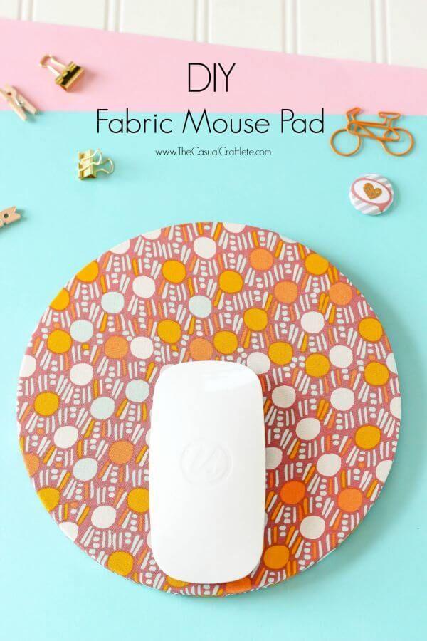 DIY Fabric Mouse Pad