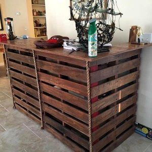 43 DIY Pallet Bar Plans and Ideas You Can Make
