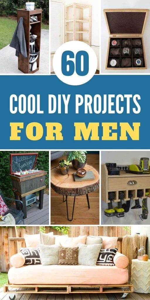 Cool DIY Projects For Men