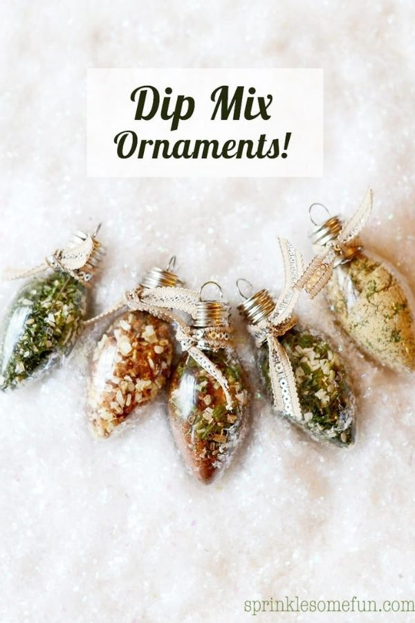 Dip Mix Ornaments