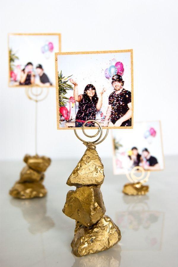 Golden Nugget Photo Holder
