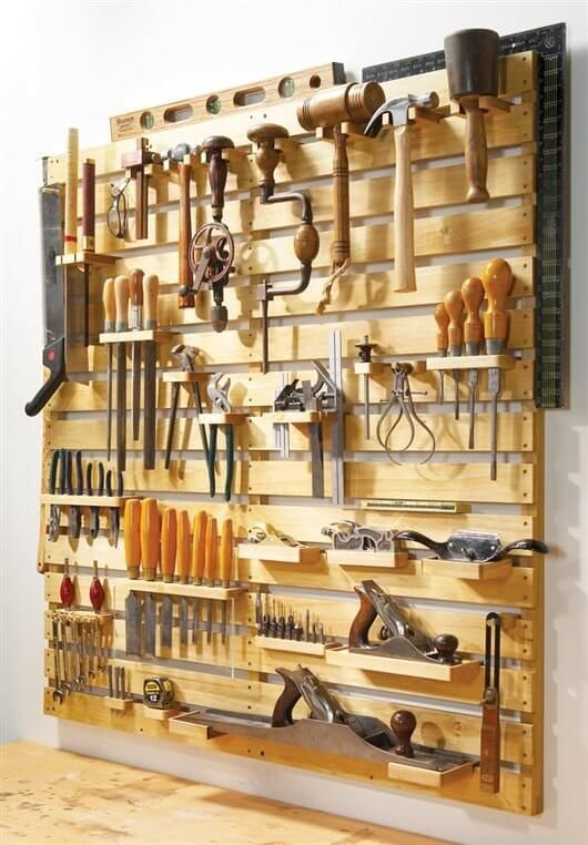 """""""Hold Everything"""" Tool Rack"""