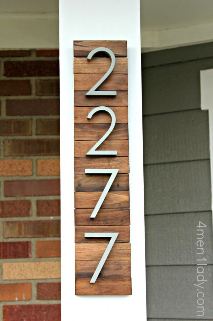 New House Number