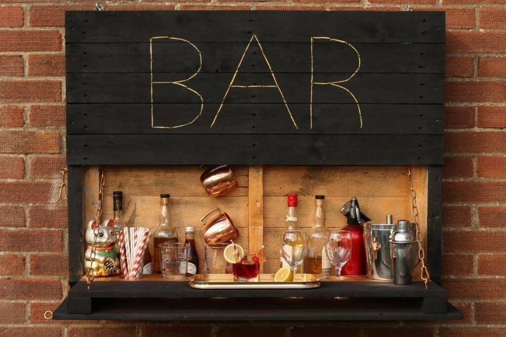 Outdoor Pallet Bar - ManoMano